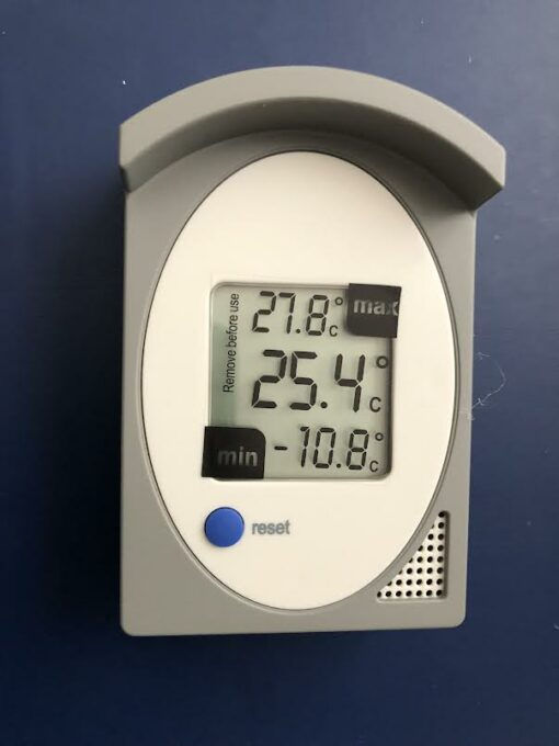 Maxima minima hőmérő